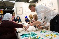 Workshop während der ArtThuer 2018